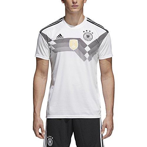 adidas Herren Dfb Heim-Trikot WM 2018 Fußballtrikot, Weiß/Schwarz, L