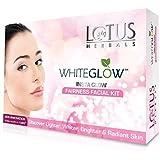 Lotus Herbals Whiteglow Insta Glow 4 In 1 Facial Kit, 40g