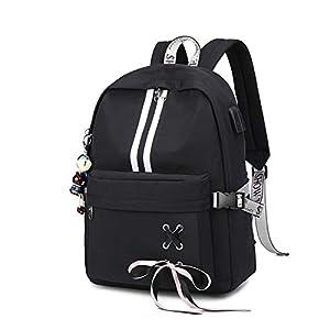 41 7ilGLZUL. SS300  - FANDARE Luminoso Mochila Mochilas Tipo Casual Bolsas Escolares Niña Bolsa de Viaje Bolsos de Mujer Adolescente Backpack…