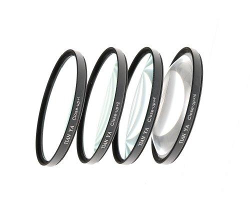 Close-Up Filter Nahlinsen-Set +1/+2/+4/+10 52mm inkl. TRANSPORTTASCHE Close Up Digital Kamera