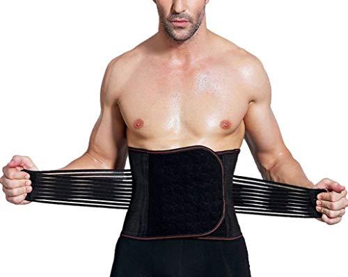 h Fettverbrennung Gürtel Bauch Body Shaper Korsett Bauch Abnehmen Taille Trainer ()