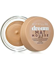 MAYBELLINE DREAM MAT Mousse 21 Nude Beige Suave