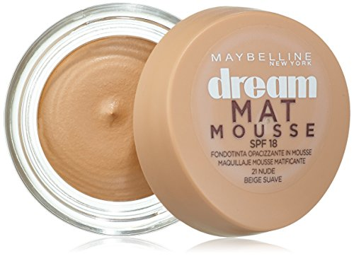 Maybelline New York Base maquillaje Dream Mat Mousse