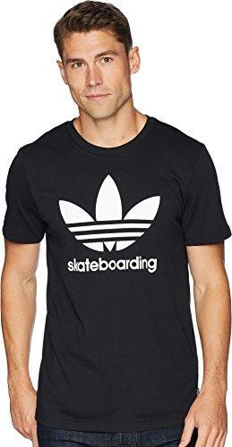 adidas Skateboarding Men's Clima 3.0 Tee Black/White X-Small