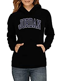 Idakoos Bordado Jordan - Apellidos - Sudadera con Capucha para Mujer 31bee7333b0