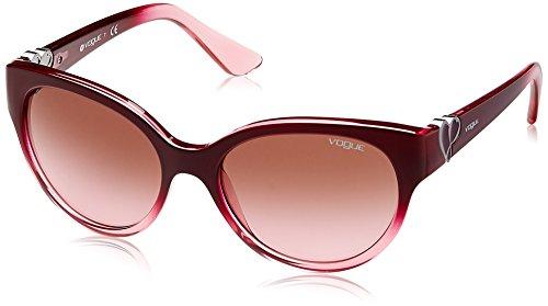 Vogue 0vo5035s 238014 56, occhiali da sole donna, rosa (marc gradient trasp pink/pinkgradientbrown)