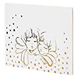 THUN  - Album - quaderno dei ricordi - Linea Angel Gold - con Stickers Ferma Foto - Carta - 30 x 21,5 cm