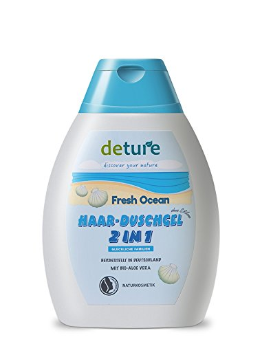 DETURE gel 2 en 1 ducha y champu frescor oceanico