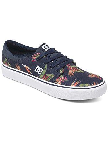 DC Shoes Trase Sp, Baskets Basses Homme navy monogram/bleu