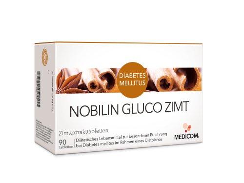 NOBILIN Gluco Zimt Tabletten 360 St Tabletten