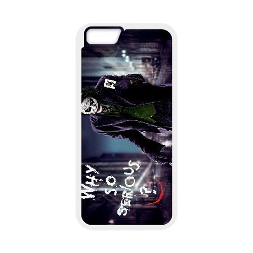 Personalized Durable Cases iPhone 6 4.7 Inch White Phone Case Irhrs Joker Heath Ledger Protection Cover