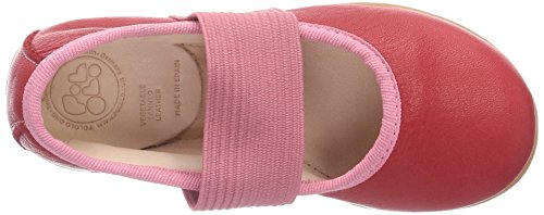 Pololo Fleur, Ballerines Fille Rouge (berry)
