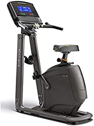 "Matrix Upright Bike U30xr with 8.5"" Extra-wide blu"
