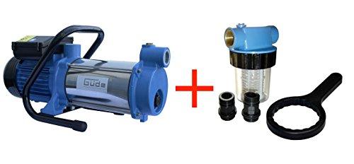 GÜDE MP/120/5A/GJ Gartenpumpe Wasserpumpe Jetpumpe + Filter