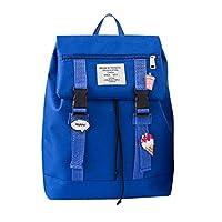 School Bag, Keepwin Fashion Teenager Students School Rucksack High School Bags Backpack Travel Camping Hiking Casual Daypacks (L, Dark Blue)