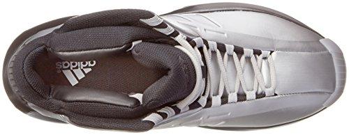 adidas Performance Mens Crazy 1 Basketball Sneakers Orange Size 10.5 Metallic Silver/Black