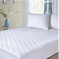 Home Sweet Home Dreams Inc Almohadillas de colchón, Acolchado colchón Topper-Hypoallergenic Impermeable Pantalla