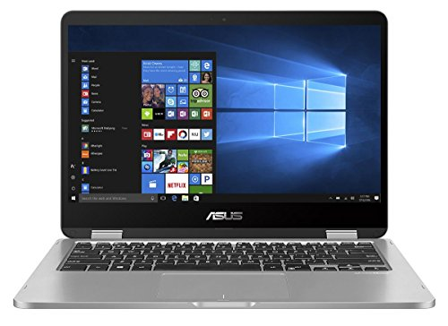 Asus VivoBook Flip 14 TP401NA-EC004T 35,5 cm (14 Zoll FHD Touch) Convertible Laptop (Intel Pentium N4200, 8GB RAM, 256GB SSD, Intel HD Graphics, Win 10 home) - Flip-laptop Asus