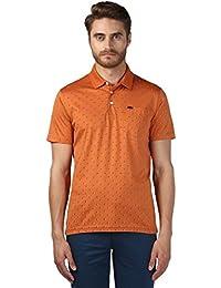 Park Avenue Men's Printed Regular Fit T-Shirt