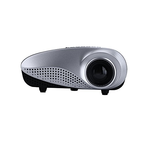 Mini Projector Portable LED 720P HD Home Theater Projectors with USB HDMI VGA AV TV SD  AU plug