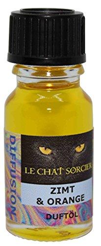 Duftöl von Le Chat Sorcier - Zimt & Orange (10ml) -