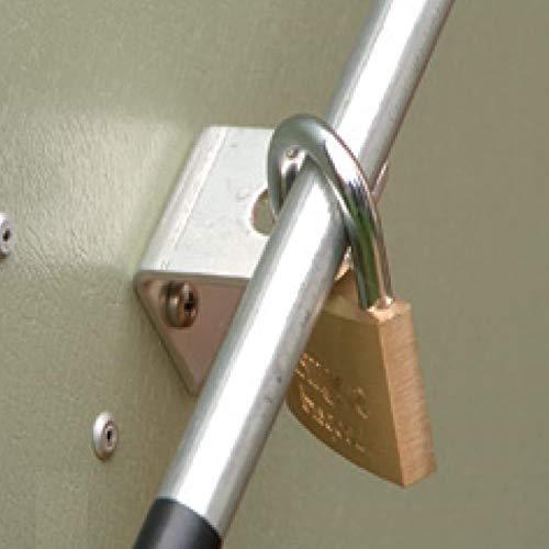 Trimetals Gerätebox, Aufbewahrungsbox, Multifunktionsbox, Fahrradbox Stowaway Anthrazit 138x89x113 cm (LxBxH); Multibox aus verzinktem Stahl - 4