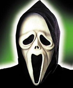 Rubie's 6 3101 - Shocked Ghost Maske (Weiß-film-figur-kostüm Und Schwarz)