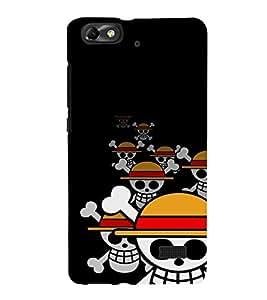 EPICCASE laughing skeleton Mobile Back Case Cover For Xiaomi Redmi Mi4i (Designer Case)