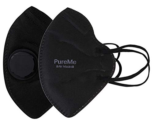 PureMe Anti PM2.5 Anti Pollution Mask with Activated Carbon Layer (Black) (2)