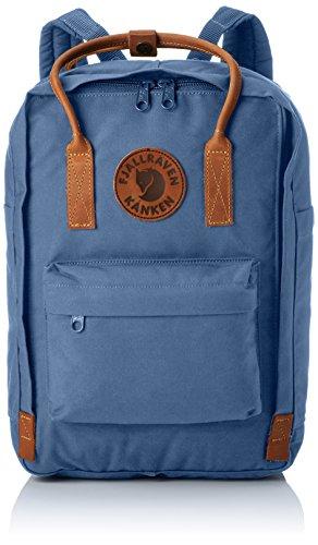 Fjällräven Kånken No.2 Laptop 15 Rucksack, Blue Ridge, 40 x 16 x 28 cm, 15 L