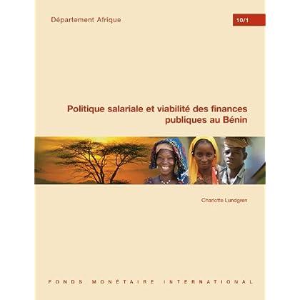 Politique salariale et viabilité des finances publiques au Bénin: