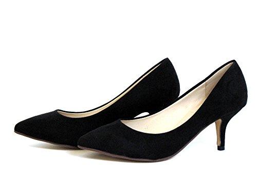 Refresh Donna scarpa décolleté nero, (schwarz) 62054 NEGRO schwarz