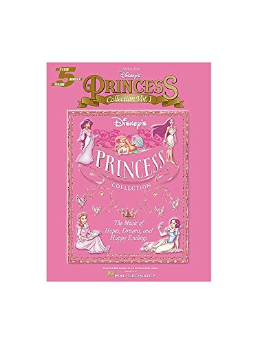 Disney's Princess Collection Volume 1 Five Finger Piano. Partitions pour Piano, Voix