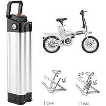 Dpower Bicicleta Eléctrica, E-Bike Pedelec Batería, Bicicleta Eléctrica para Batería de Iones