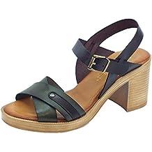 Sandalei Di Pelle Fiori Damenschuhe Mercante di Fiori Pelle 21297a