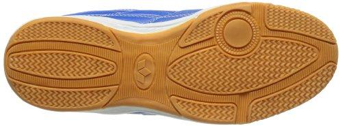 Lico  Rockford, Chaussures indoor mixte enfant Argent - Silber (silber/blau/gelb)