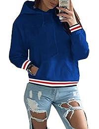 ASSKDAN Damen Kapuzenpullover Sweatshirts Hoodie Sport Oversize Outerwear Pullover Herbst