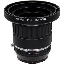 Fotodiox Pro–Adaptador de montura para objetivo con Focusing Barrel, para Mamiya RZ67Soporte Cuerpos de cámara Lentes a Fujifilm X-Series–Adaptador de cámara sin espejo compatible con X-Mount como X-Pro1, X-E1, X-M1, X-A1, X-E2, X-T1