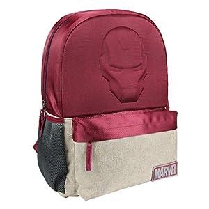 41 8 drcABL. SS300  - Mochila Escolar Instituto Avengers Iron Man