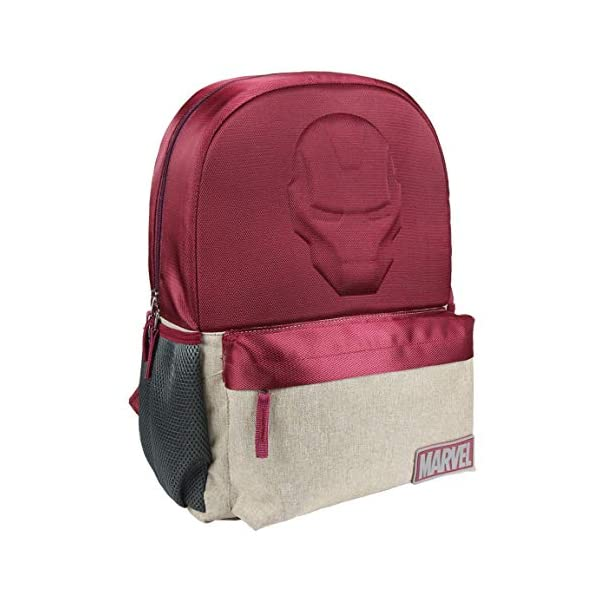 41 8 drcABL. SS600  - Mochila Escolar Instituto Avengers Iron Man