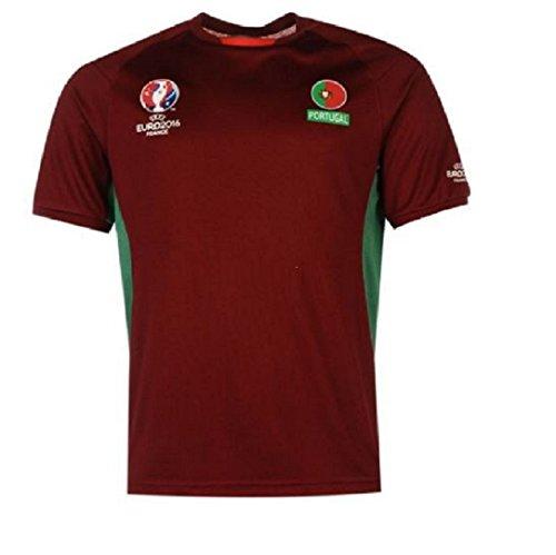 6a8cdc271 UEFA Euro 2016 - Camiseta de la selección de Portugal Oficial poliéster