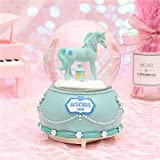 Mignon Adolescent Coeur Cristal Boule Licorne Octopus Boîte À Musique Fille Chambre...