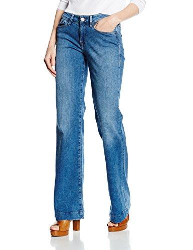 Mavi Damen Schlag Jeanshose CORA, Gr. W28/L30, Blau (Dark STR 19335) Ag Jeans Low Rise Jeans