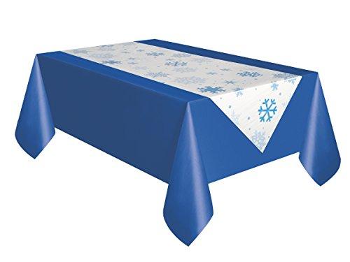 fer, aus Kunststoff, Schneeflocke, 2,2 x 0,5 m (7Fuß x 1,5Fuß) (Schneeflocke Kunststoff)