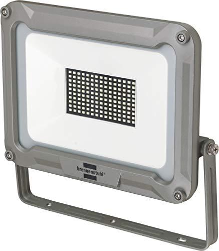 Brennenstuhl LED Strahler Jaro 9000 (für außen, LED-Außenstrahler zur Wandmontage, LED-Fluter 100W aus Aluminium, IP65) silber