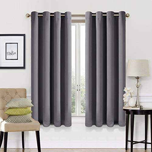 99% Blackout Curtains 2 Panels S...