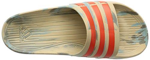 adidas Unisex-Erwachsene Duramo Slide Zehentrenner, Orange VIF/Orange VIF/Orange VIF Blu ( Caqlin/Energi/Cartra)