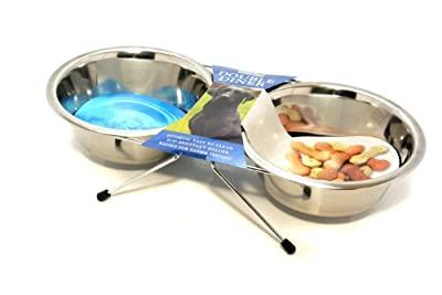 Rosewood Wire Double Diner from Rosewood Pet Products Ltd