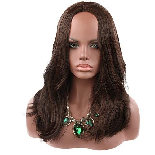 efaser Material Männer und Frauen Lange Haare natürliche Farbe Geeignet für Cosplay Halloween-Party (38546558) ()