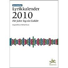 Deutschlandfunk Lyrikkalender 2010: FürjedenTageinGedicht